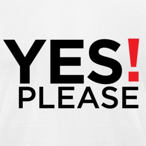 Yes please !! - Men's T-Shirt by American Apparel