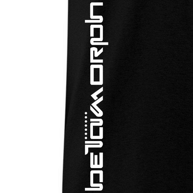 Betamorph Recordings type Logo vertical