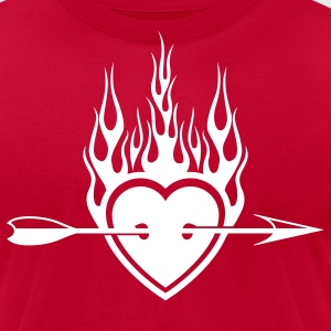 Valentine T-Shirts - Men's T-Shirt by American Apparel