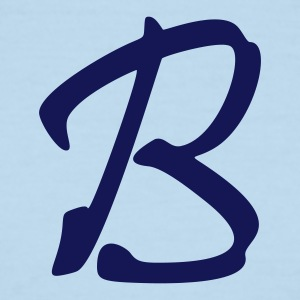 fancyfont_letter_b T-Shirts - Men's Ringer T-Shirt
