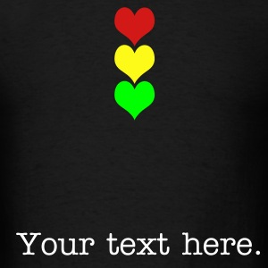 traffichearts T-Shirts - Men's T-Shirt