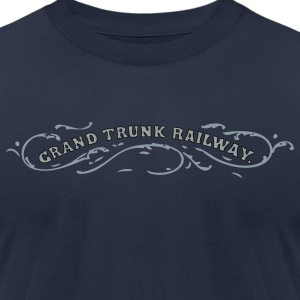 Grand Trunk Railway T-Shirts - Men's T-Shirt by American Apparel