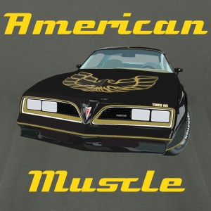 American Muscle - Men's T-Shirt by American Apparel