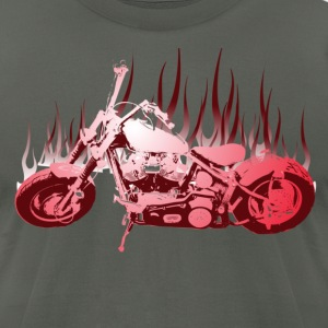 Chopper (red) - Men's T-Shirt by American Apparel