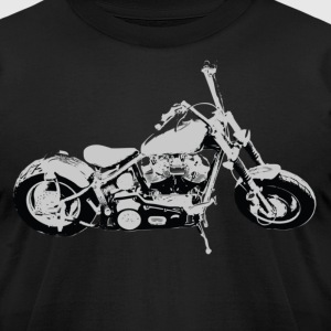 Chopper - Men's T-Shirt by American Apparel