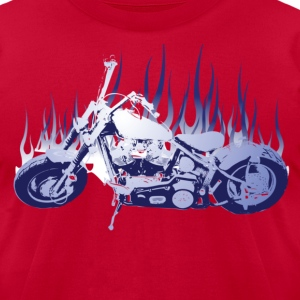 American Chopper - Men's T-Shirt by American Apparel