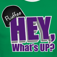 Design ~ Men's Lightweight Ringer Tee Hey, What's up?