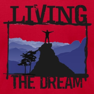 Men's Living the Dream T-Shirt - Men's T-Shirt by American Apparel