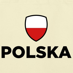 Poland Emblem Small 1 (3c) Bags  - Eco-Friendly Cotton Tote