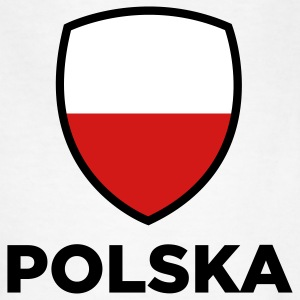 Poland Emblem Big 1 (3c) Kids' Shirts - Kids' T-Shirt