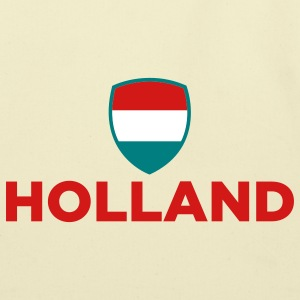 Holland Emblem Small 2 (3c) Bags  - Eco-Friendly Cotton Tote
