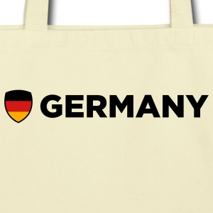 Germany Emblem Side 1 (3c) Bags  - Eco-Friendly Cotton Tote