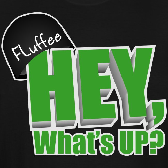 3XL Mens T-shirt. Hey, What's up?