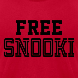 Free Snooki - Men's T-Shirt by American Apparel