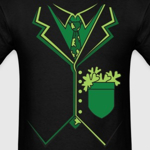Irish Tuxedo Suit T-Shirt T-Shirts - Men's T-Shirt