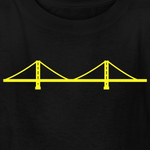 San Francisco - Golden Gate Bridge  Kids' Shirts - Kids' T-Shirt