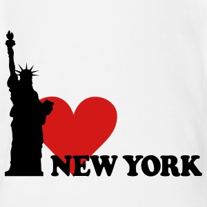 I LOVE NEW YORK Baby Bodysuits - Baby Short Sleeve One Piece