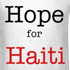 Hope for Haiti - Men's T-Shirt