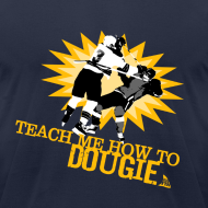 Design ~ Dougie Men's Navy AA Tee
