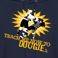 Design ~ Dougie Men's Navy Hoodie