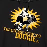 Design ~ Dougie Men's Black Hoodie