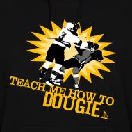 Design ~ Dougie Women's Black Hoodie