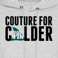 Design ~ Couture For Calder Men's Ash Hoodie