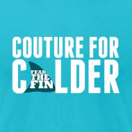 Design ~ Couture For Calder Men's Teal AA Tee