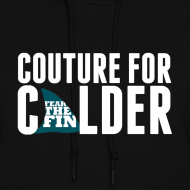 Design ~ Couture For Calder Women's Black Hoodie