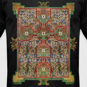 Lindisfarne Gospels T-Shirts - Men's T-Shirt by American Apparel