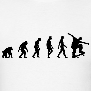Skateboard Evolution (1c) T-Shirts - Men's T-Shirt