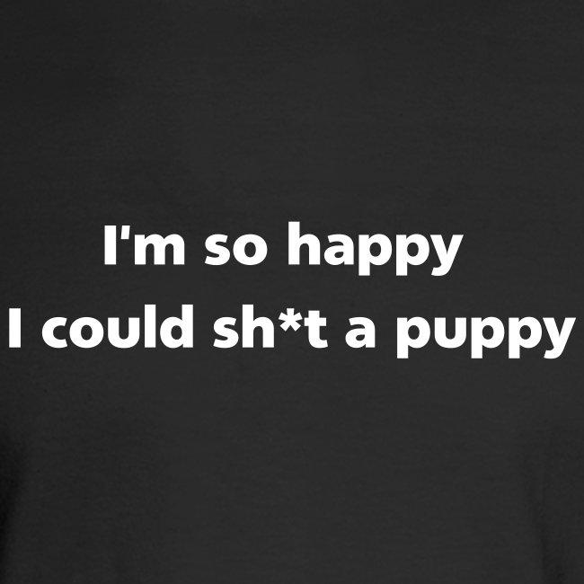 MENS LONG: Sh*t a puppy