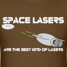 space lasers - Mens