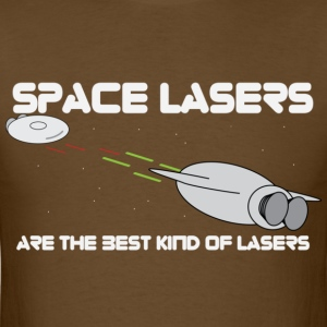 space lasers - Mens - Men's T-Shirt