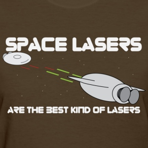space lasers - Womens - Women's T-Shirt