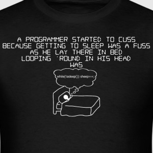 programmer !asleep - mens - Men's T-Shirt