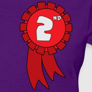 second_place_ribbon - womens - Women's T-Shirt