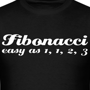fibonacci is easy - mens - Men's T-Shirt
