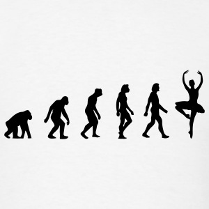 Ballerina Evolution (1c) T-Shirts - Men's T-Shirt