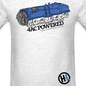 4A-C Powered (The Underdog Story) - Men's T-Shirt
