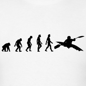 Kayaking Evolution (1c) T-Shirts - Men's T-Shirt