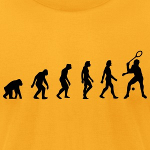 Squash Evolution (1c) T-Shirts - Men's T-Shirt by American Apparel