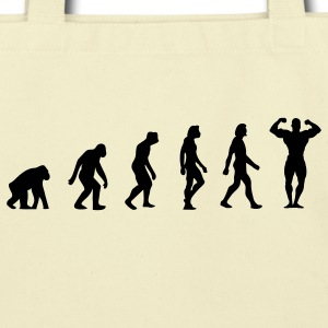Body Building Evolution (1c) Bags  - Eco-Friendly Cotton Tote