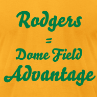 Design ~ Rodgers = Dome Field Advantage