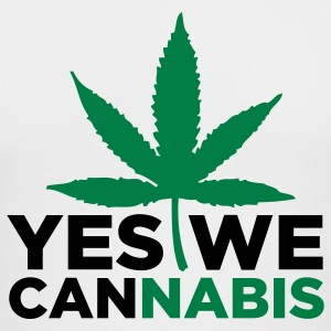 Yes We Cannabis 3 (2c) Long Sleeve Shirts - Men's Long Sleeve T-Shirt by Next Level