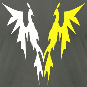phoenix twins - Men's T-Shirt by American Apparel