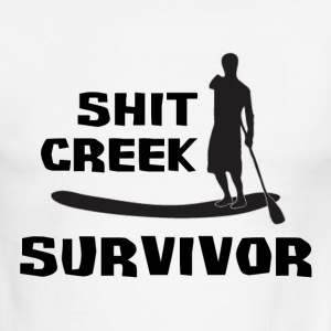 Shit Creek Survivor T-Shirts - Men's Ringer T-Shirt