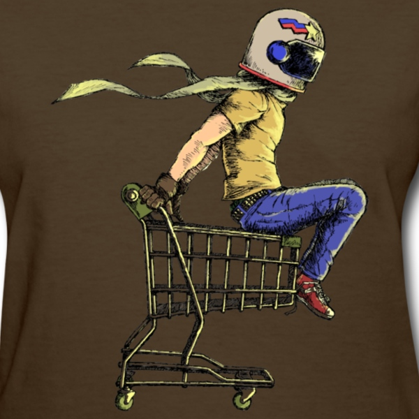Colored Kart Racer Women's T-Shirts - Women's T-Shirt