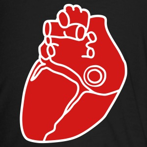 Small anatomical heart T-Shirts - Men's Ringer T-Shirt