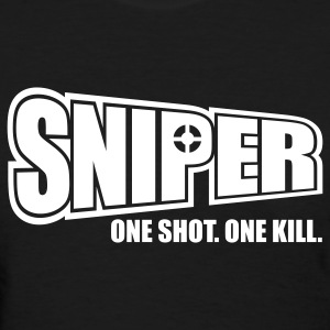 Sniper One Shot One Kill Women's T-Shirts - Women's T-Shirt